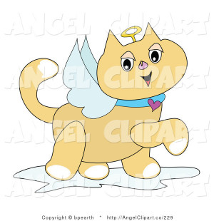 clip-art-of-an-angel-cat-with-white-wings-a-golden-halo-and-heart ...
