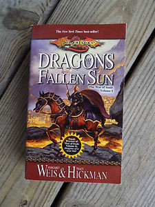 DRAGONS OF A FALLEN SUN 1 by Tracy Hickman and Margaret Weis