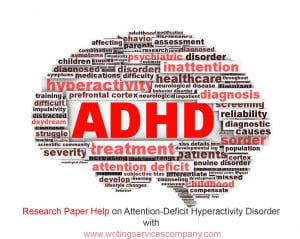 ADHD in Children - Research Paper Example