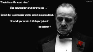 The Godfather Quotes Fb Cover The Godfather