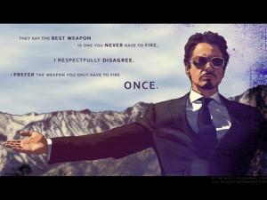 Tony Stark Fan Art man tony stark quote