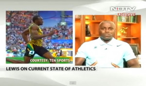 Carl Lewis is at it again. In a recent interview with New Delhi ...