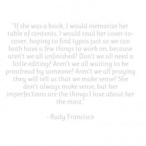 Rudy Francisco - A Lot Like You