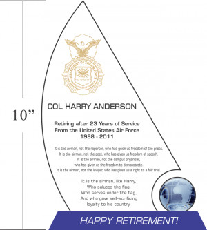 Air Force Years of Service