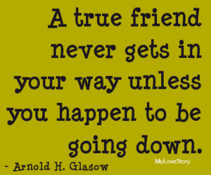 Emotional Famous Quotes About Friendship