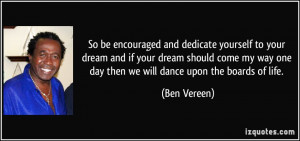 More Ben Vereen Quotes