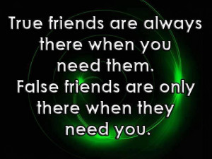 True Friends Are Always There