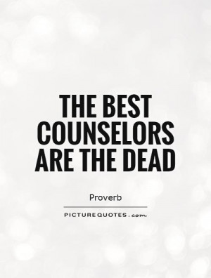 Counselor Quotes and Sayings