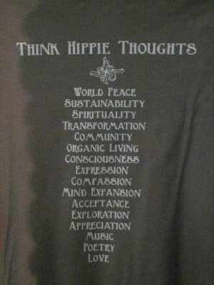 Definition of a Hippie--just in case you were wondering...