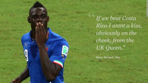 Mario Balotelli is well known to English fans, having spent three ...