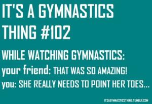 gymnastics tumblr it's a gymnastics thing so true love