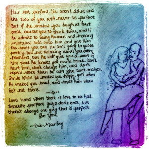 sketch by me and a Bob Marley quote :)