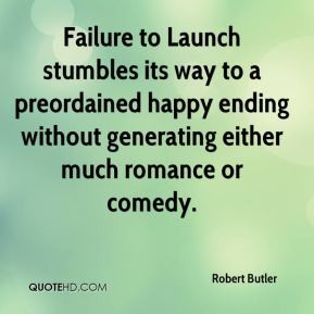 Robert Butler - Failure to Launch stumbles its way to a preordained ...