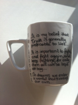 Harry Potter Mug with Albus Dumbledore quotes and Gift Box