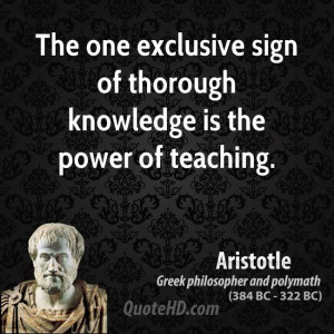 : aristotle-philosopher-the-one-exclusive-sign-of-thorough-knowledge ...