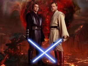 obi-wan kenobi and Anakin skywalker Obi-Wan and Anakin