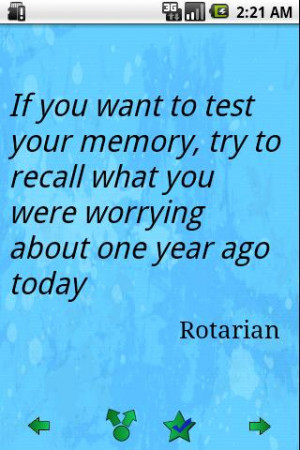 If You Want to Test Your Memory,Try to Recall What You Were Worrying ...
