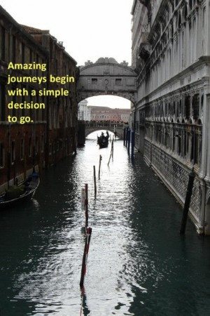 ... just need to close your eyes and take a leap of faith. #quotes #Venice