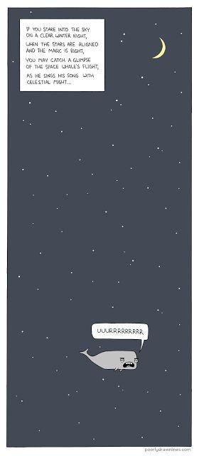 astropixie: space whale