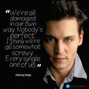 Johnny Depp Inspirational Quote And Make This Image Wallpaper For