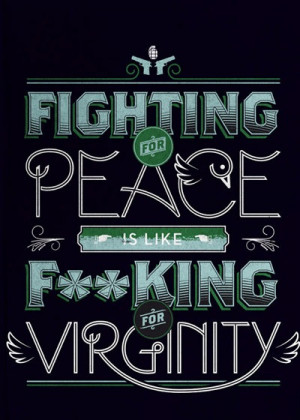 55. Fighting for peace