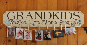 ... > Grandkids Make Life Grand, Family Wall Art Primitive Wood Signs