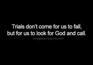 Trials / But God is Able !