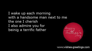 short messages father's day for husband