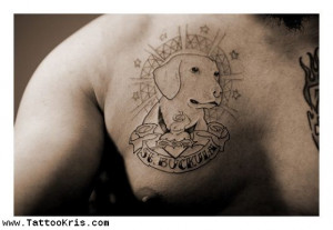 Animal Memorial Tattoos