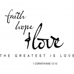 Faith Hope Love Quotes Faith hope love religious
