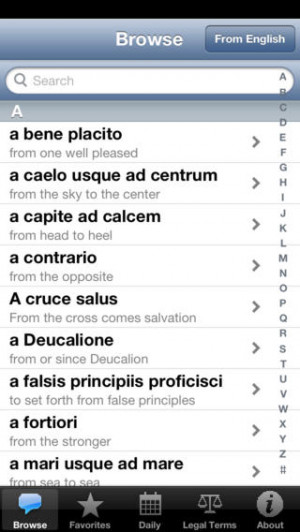 Latin Sayings & Phrases Support