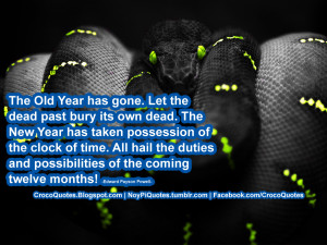 The Dead And The Gone Quotes Let the dead past bury its own
