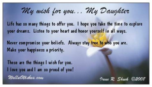 Love You Daughter From Mom Quotes 1 Picture