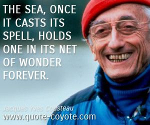 Jacques Yves Cousteau - The sea