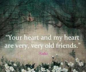 Quote ~ Hafiz