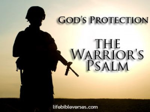 The warrior's psalm for God's protection