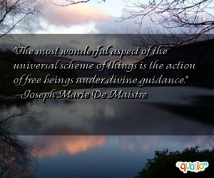 The most wonderful aspect of the universal
