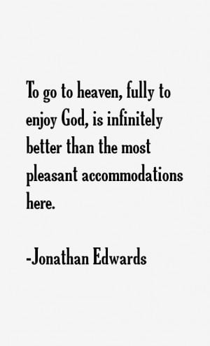 Jonathan Edwards Quotes & Sayings