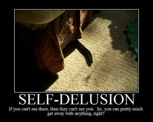 How to stop fooling yourself; Or, giving up delusion (VIDEO)