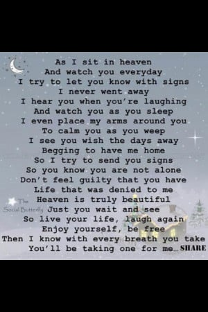 forever & always my guardian angel. i love you, please watch over me ...