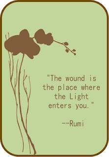 Rumi... Healing words