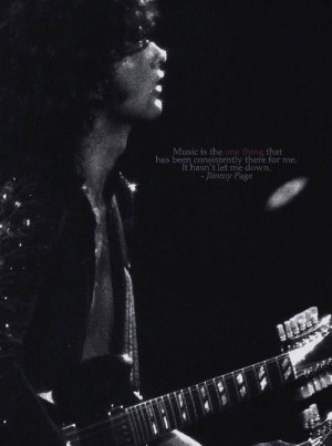 Jimmy Page & quote....