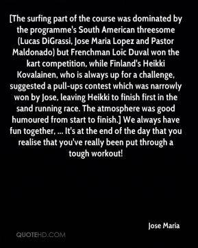 Duval won the kart competition, while Finland's Heikki Kovalainen ...