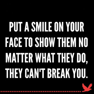 Put a smile and defeat enemies - Best Quotes