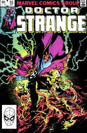 Doctor Strange #55 , Oct 1982, by Roger Stern and Michael Golden ...