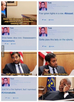 Tom Haverford #ParksandRec