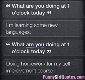 Siri self-improvement