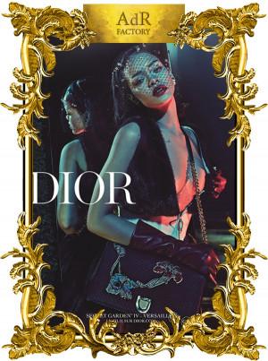 Rihanna in #DiorSecretGardenIV   ANNA DELLO RUSSO