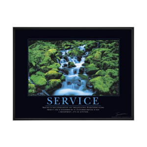 Service is the lifeblood of any organization. Everything flows from it ...