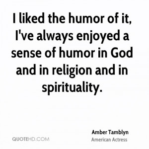 Amber Tamblyn Religion Quotes